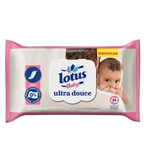 Lingettes Lotus Baby Ultra Douce